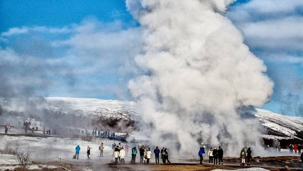 Golden Circle & The Geothermal Power - in a Minibus