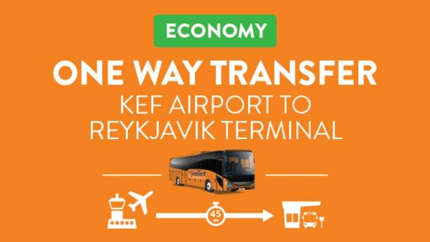Airport Direct Economy - Keflavik airport to Reykjavik City