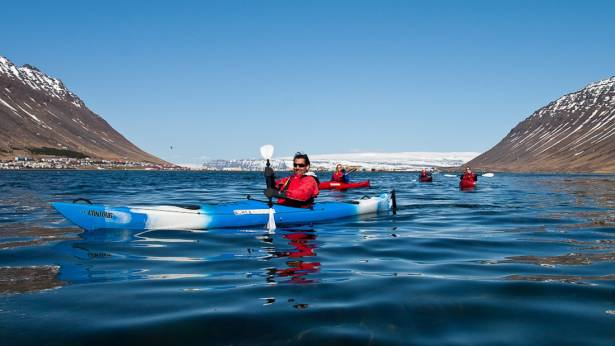 Calm Water Kayaking, Isafjordur