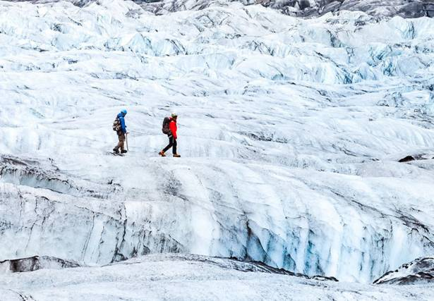 Glacier Hike to Blue Heaven