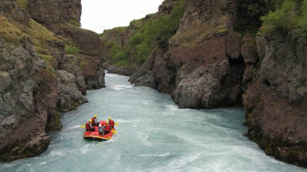 West Glacial River Rafting